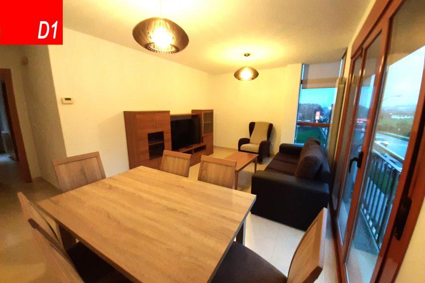 apartamento 6 personas silleda salon comedor d1